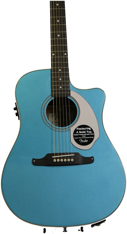 Fender Sonoran SCE - Lake Placid Blue image 1