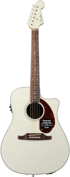 Fender Sonoran SCE - Olympic White image 1