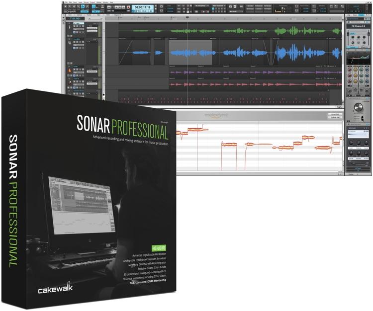 Cakewalk SONAR Professional - Upgrade from SONAR Studio (download) image 1