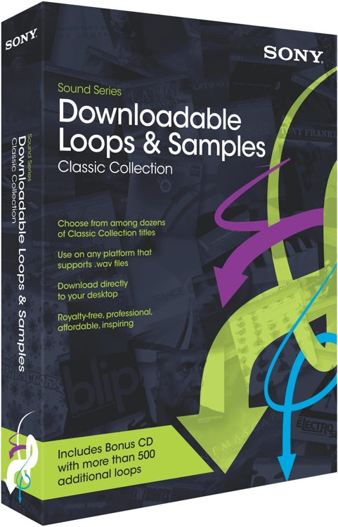 Sony Sound Series Downloadable Loops & Samples - Classic Collection image 1