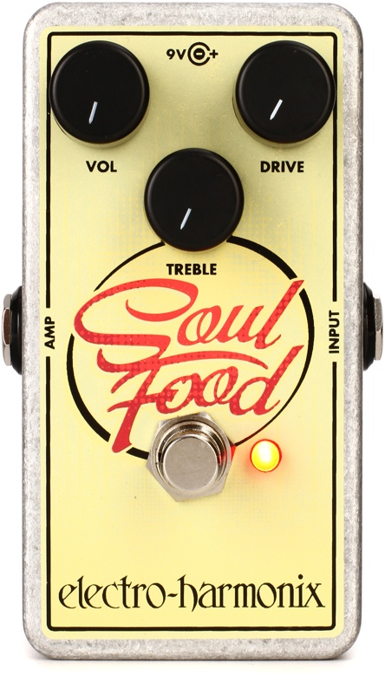 Electro-Harmonix Soul Food Distortion/Overdrive Pedal image 1
