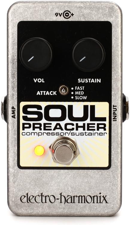 Electro-Harmonix Nano Soul Preacher Compressor/Sustainer Pedal image 1