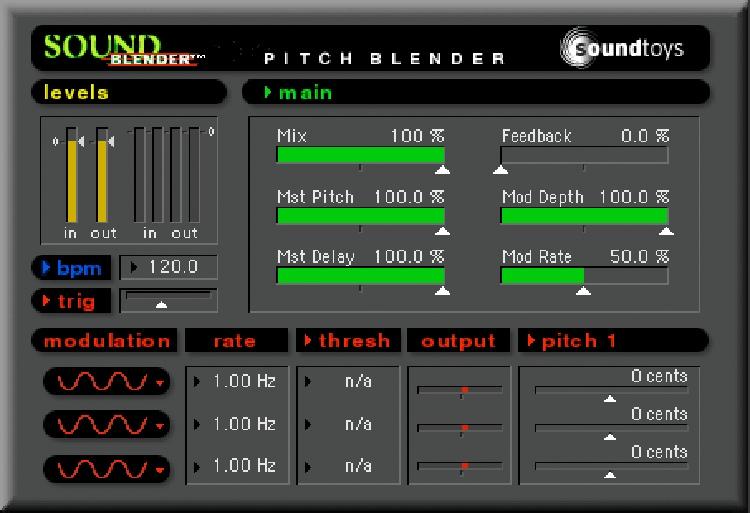 Soundtoys SoundBlender Plug-in - TDM image 1