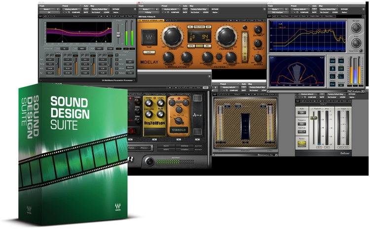 Waves Sound Design Suite Plug-in Bundle image 1