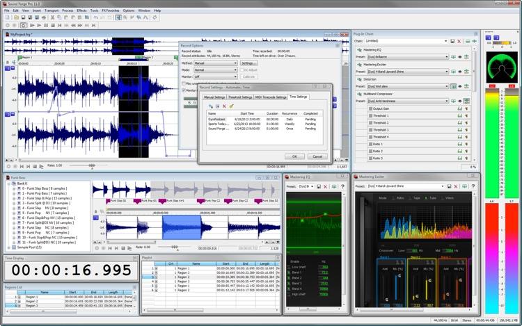 Magix Sound Forge Pro 11 Academic image 1