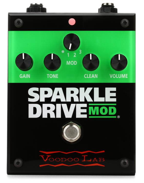 voodoo lab sparkle drive mod overdrive pedal sweetwater. Black Bedroom Furniture Sets. Home Design Ideas
