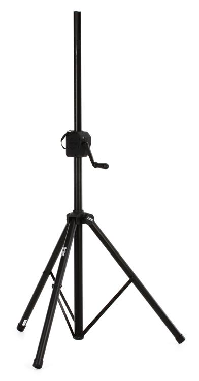 on stage stands ss8800b power crank up speaker stand sweetwater. Black Bedroom Furniture Sets. Home Design Ideas