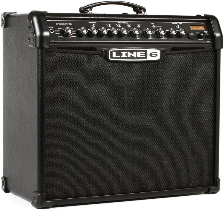 line 6 spider iv 75 modeling 75w 1x12 guitar combo amp. Black Bedroom Furniture Sets. Home Design Ideas