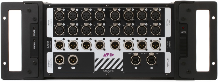 Avid VENUE Stage 16 Stage Box for S3L System image 1