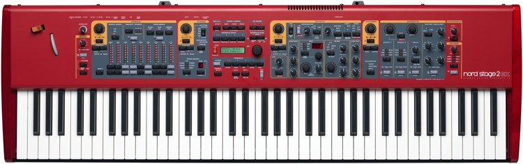Nord Stage 2 EX HP76 Stage Keyboard image 1
