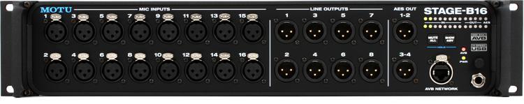 MOTU Stage-B16 Stage Box / Digital Mixer image 1