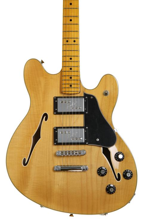 Fender Modern Player Starcaster - Natural image 1