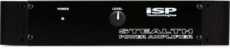 ISP Technologies Stealth 180-watt Pedalboard Power Amp with Rack Ears image 1