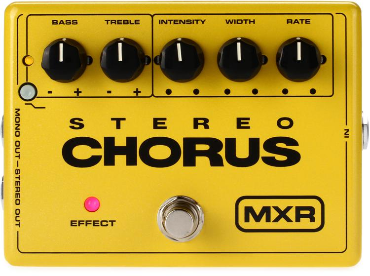 mxr m134 stereo chorus pedal sweetwater. Black Bedroom Furniture Sets. Home Design Ideas