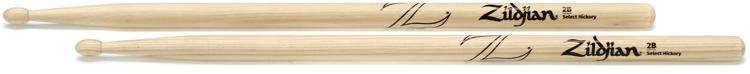 Zildjian 2B Hickory - Wood Tip image 1