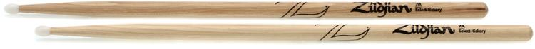 Zildjian 7ANN 7A Hickory Drumsticks - Nylon Tip image 1