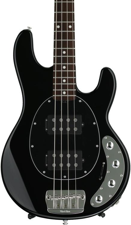 Ernie Ball Music Man StingRay 4 HH - Black, Rosewood Fingerboard image 1