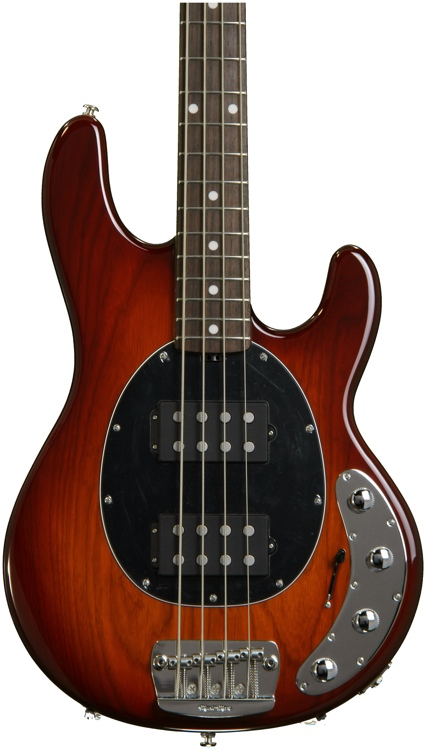 Ernie Ball Music Man StingRay 4 HH SLO Special - Honey Burst image 1
