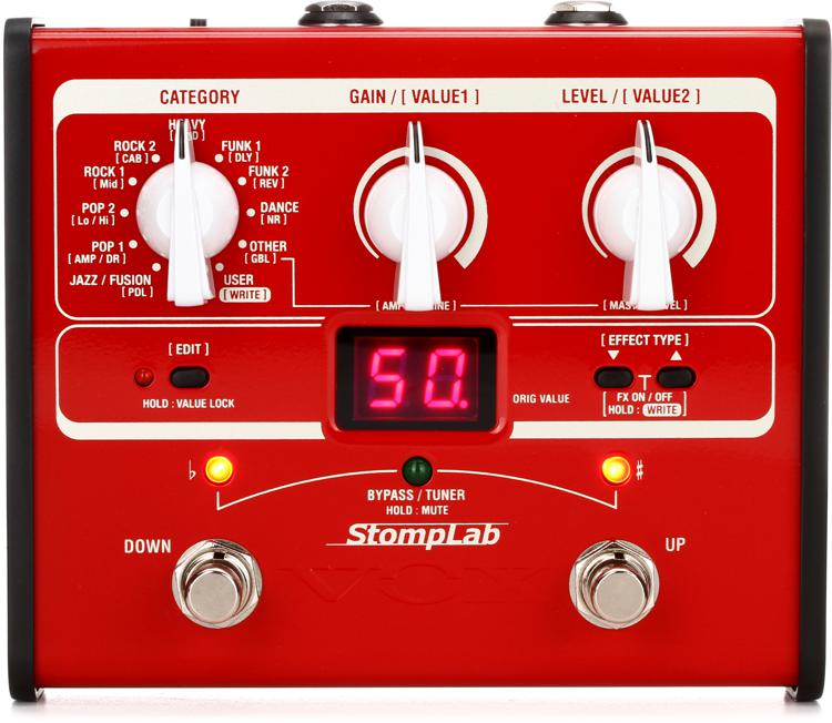 Vox StompLab IB Bass Modeling Effects Pedal image 1