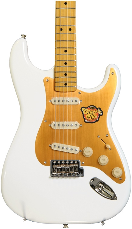 Squier Classic Vibe Stratocaster \'50s - Olympic White image 1