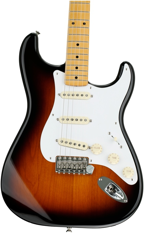 Fender Classic \'50s Stratocaster - 2-color Sunburst with Maple Fingerboard image 1