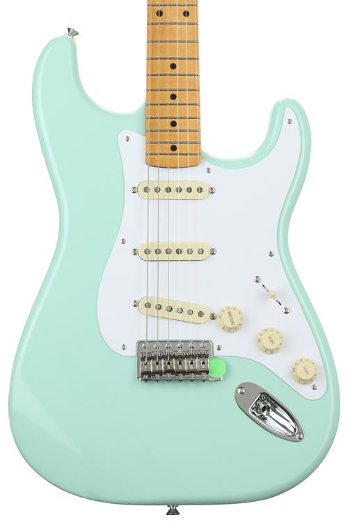 Fender Classic \'50s Stratocaster - Surf Green with Maple Fingerboard image 1
