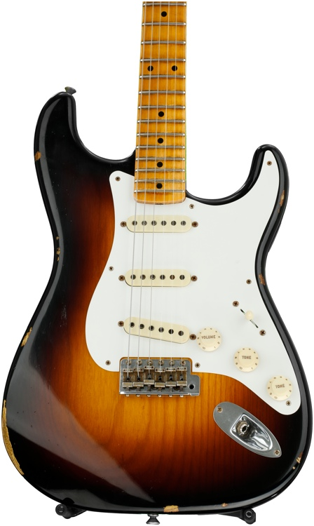 Fender Custom Shop 1956 Stratocaster Heavy Relic - 2- color Sunburst image 1