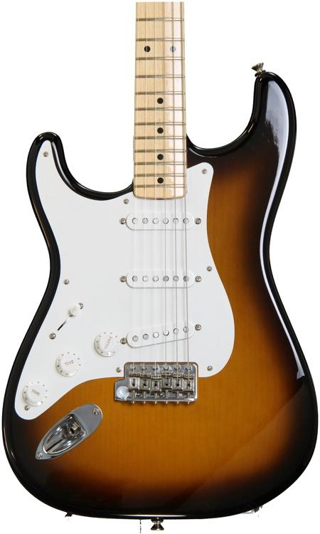 Fender American Vintage \'56 Stratocaster, Left-handed - 2-color Sunburst with Maple Fingerboard image 1