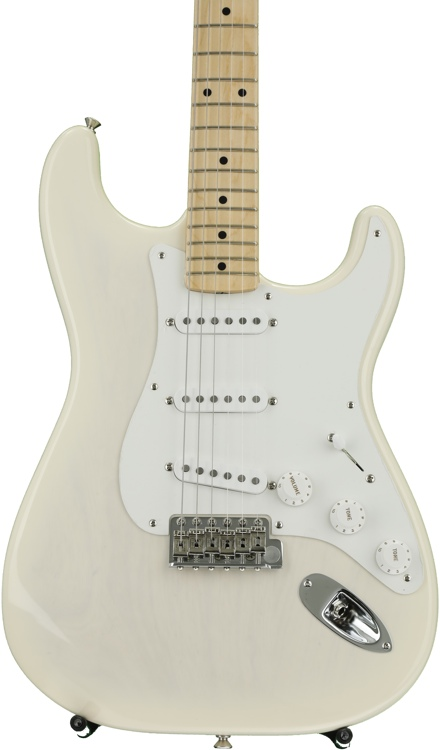 Fender American Vintage \'56 Stratocaster - Aged White Blonde with Maple Fingerboard image 1