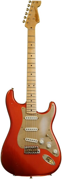 Fender Custom Shop 1956 Relic Stratocaster - Candy Tangerine image 1