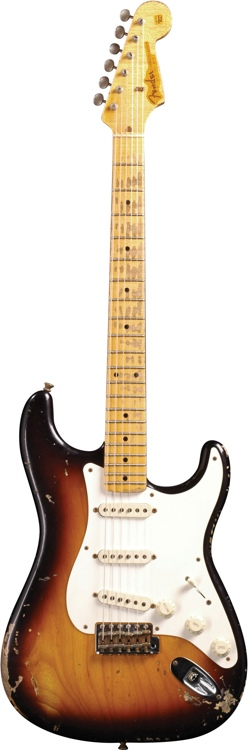 Fender Custom Shop 1957 Strat Heavy Relic - 2 Tone Tobacco Burst image 1