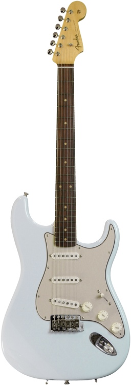 Fender American Vintage \'59 Stratocaster - Faded Sonic Blue with Rosewood Fingerboard image 1