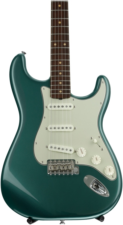 Fender American Vintage \'59 Stratocaster - Sherwood Green Metallic with Rosewood Fingerboard image 1