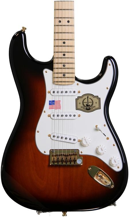 Fender 60th Anniv. Comm. Strat - 2-Color Sunburst image 1