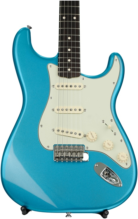 Fender Classic \'60s Stratocaster - Lake Placid Blue with Rosewood Fingerboard image 1