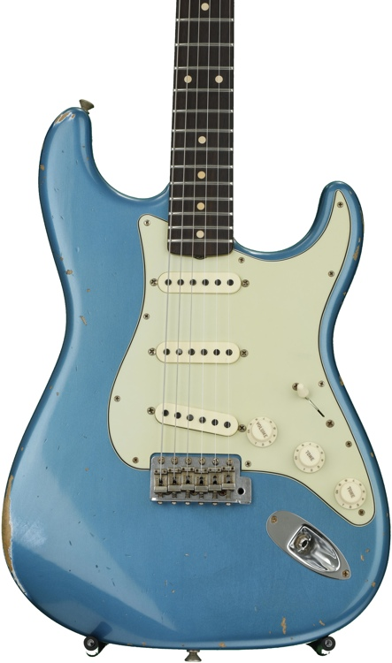 Fender Custom Shop 1961 Relic Stratocaster - Aged Lake Placid Blue with Rosewood Fingerboard image 1