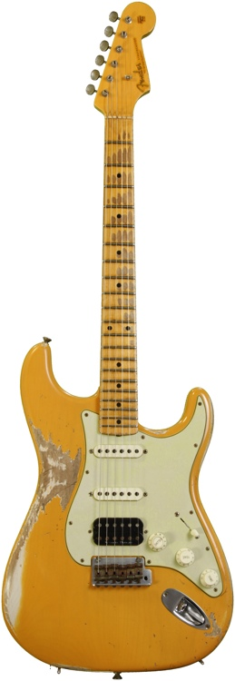 Fender Custom Shop Sweetwater Mod Squad \'62 Stratocaster - Butterscotch, Hvy Relic image 1
