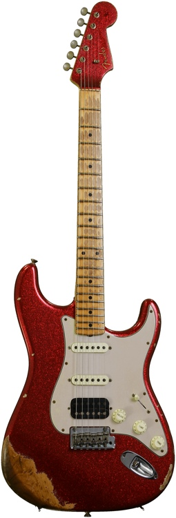Fender Custom Shop Sweetwater Mod Squad \'62 Stratocaster - Red Sparkle, Heavy Relic image 1