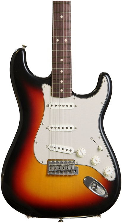 Fender Custom Shop Anniversary 1964 Closet Classic Stratocaster - 3-Color Sunburst  image 1