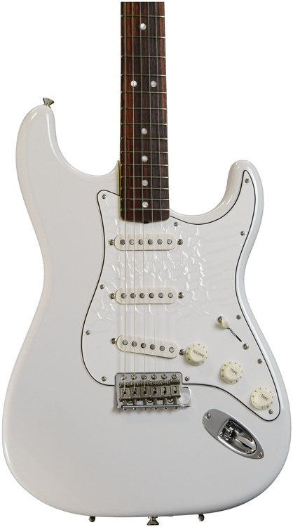 Fender American Vintage \'65 Stratocaster - Olympic White with Rosewood Fingerboard image 1