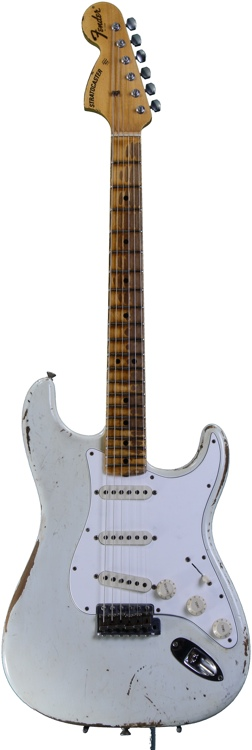 Fender Custom Shop Limited Edition Relic 1969 Stratocaster - Oly White, Heavy Relic image 1