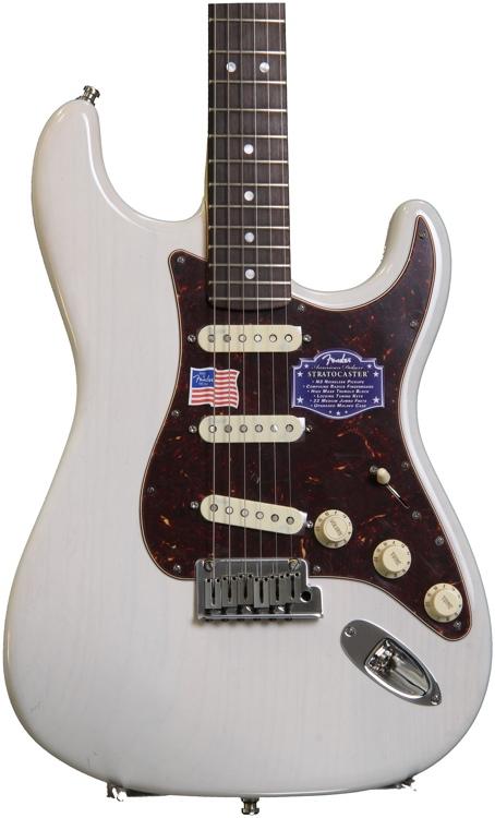 Fender American Deluxe Ash Stratocaster - White Blonde image 1