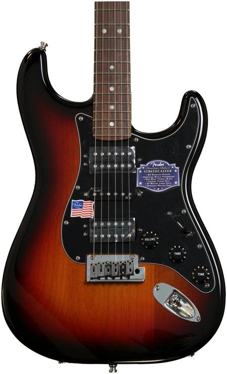 Fender American Deluxe Stratocaster HSH - 3-Color Sunburst image 1