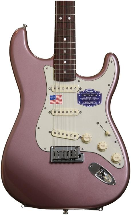 Fender American Deluxe Stratocaster - Burgundy Mist Metallic, Rosewood image 1