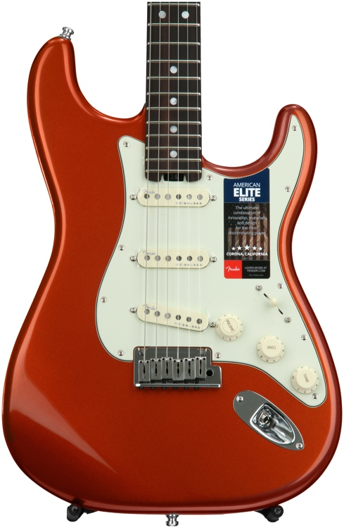 Fender American Elite Stratocaster - Autumn Blaze Metallic with Rosewood Fingerboard image 1