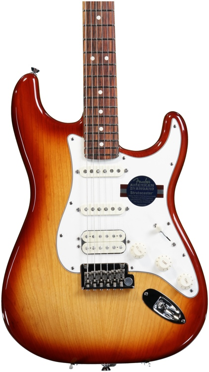 Fender American Standard Stratocaster HSS - Sienna Sunburst, Rosewood image 1