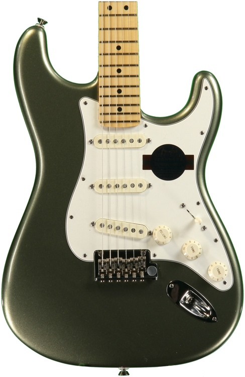 Fender American Standard Stratocaster - Jade Pearl Metallic with Maple Fingerboard image 1