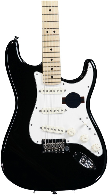 Fender American Standard Stratocaster - Black with Maple Fingerboard image 1