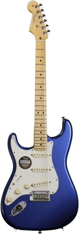 Fender American Standard Stratocaster, Left handed - Mystic Red with Maple Fingerboard image 1