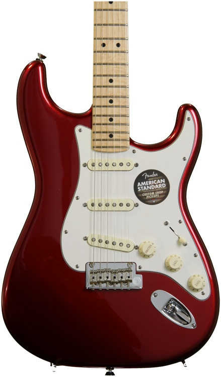 Fender American Standard Stratocaster - Mystic Red with Maple Fingerboard image 1